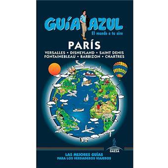 guías de ciudades Guia AzulParis
