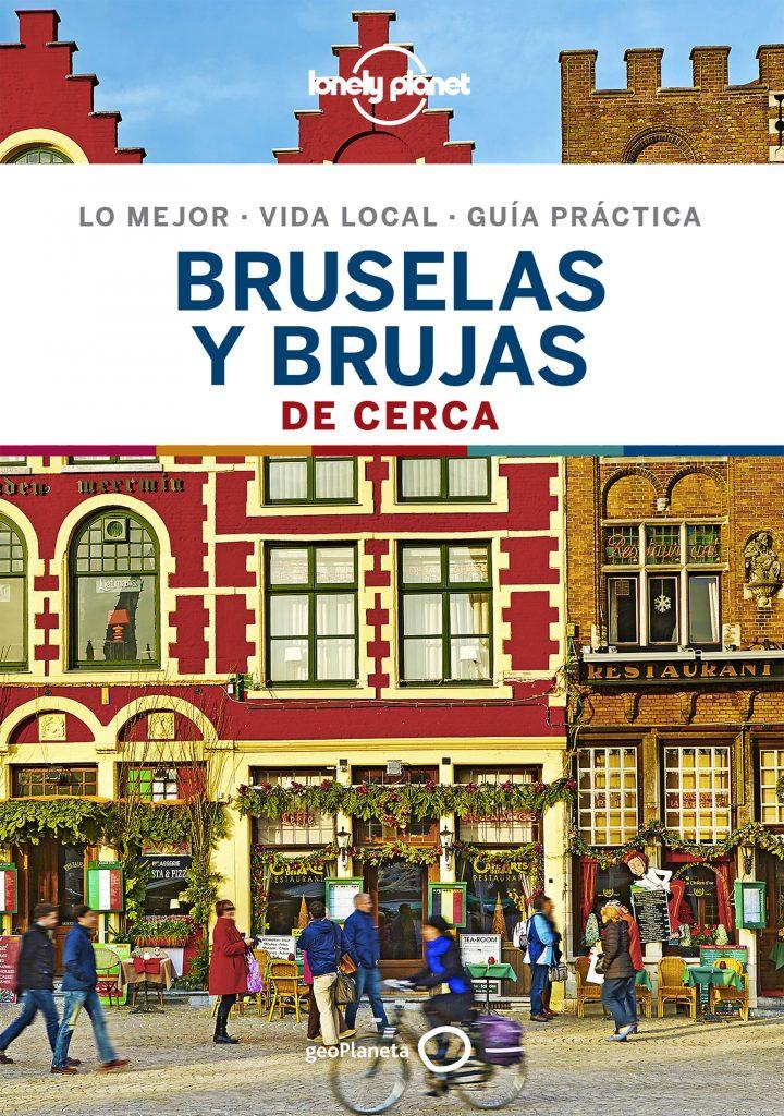 guías de ciudades Lonely Planet Bruselas y Brujas