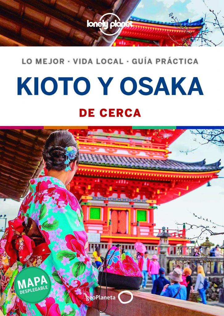guías de ciudades Lonely Planet Kioto y Osaka