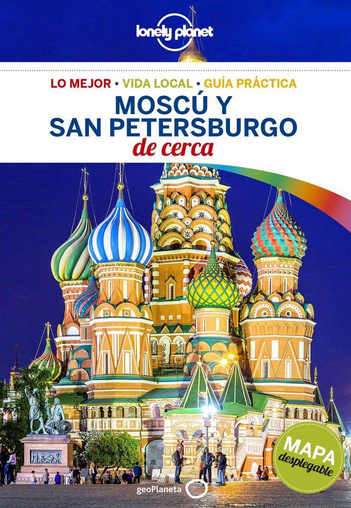 guías de ciudades Lonely Planet Moscú y San Petersburgo de cerca 1