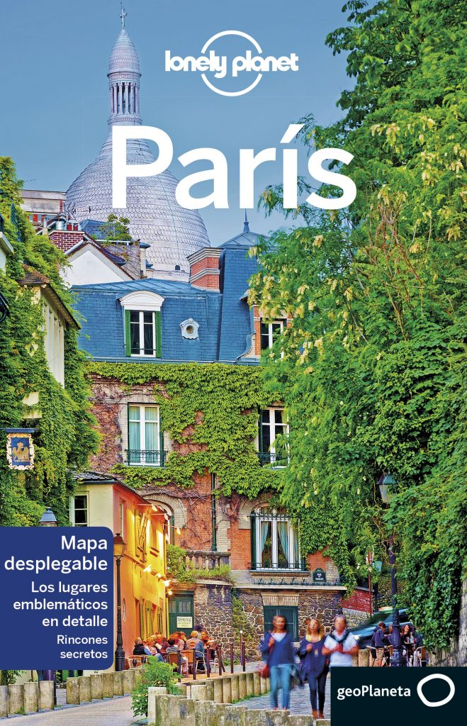 guías de ciudades Lonely Planet Paris