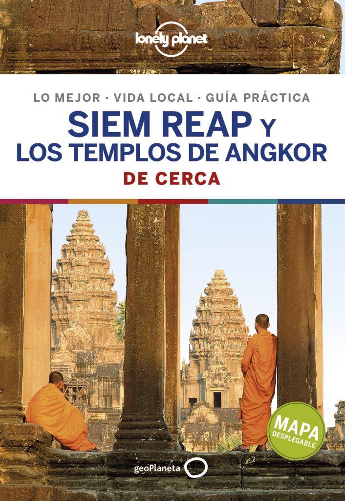 guías de ciudades Lonely Planet Siem Reap y los templos de Angkor